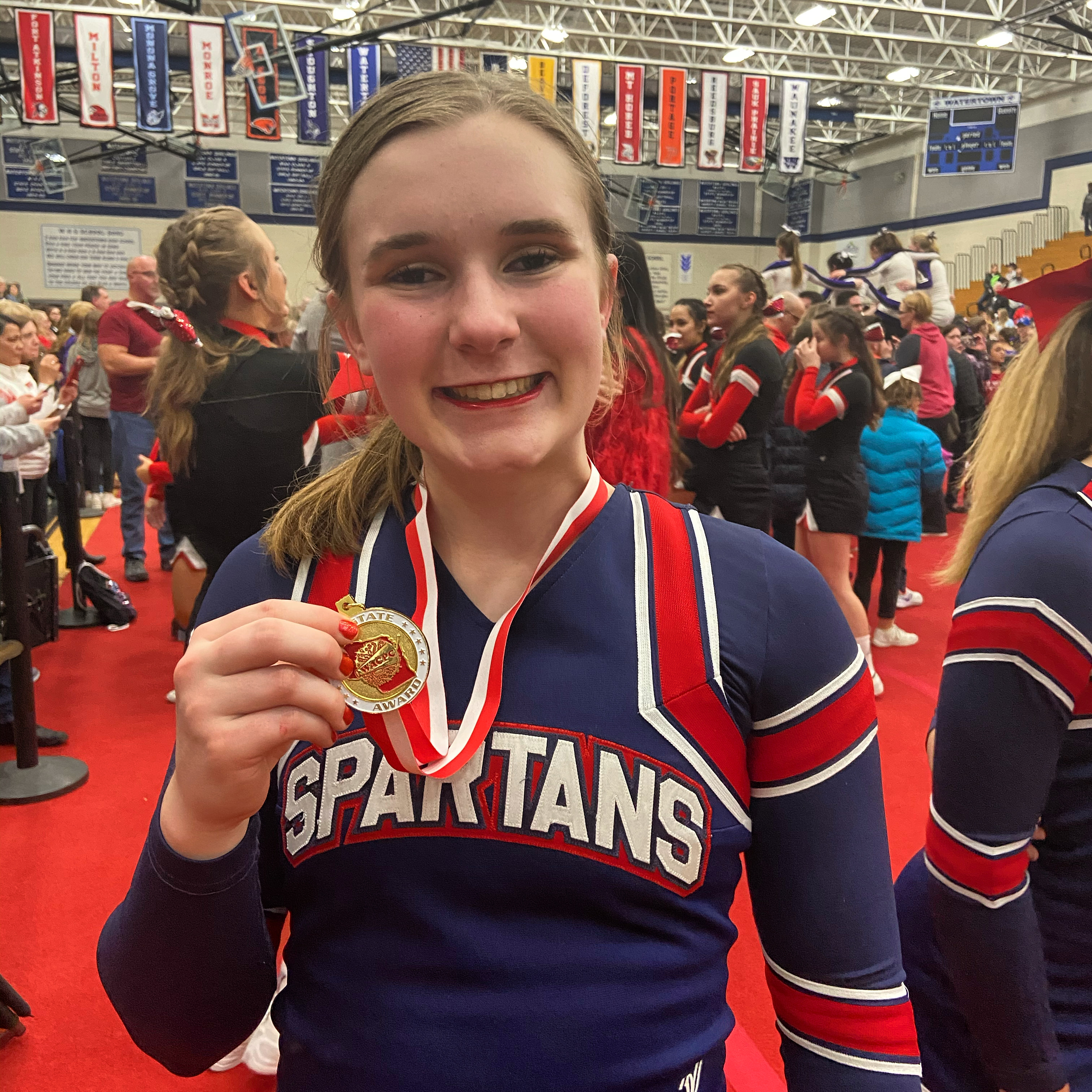Fitzpatrick named Wisconsin All-State Cheer Team