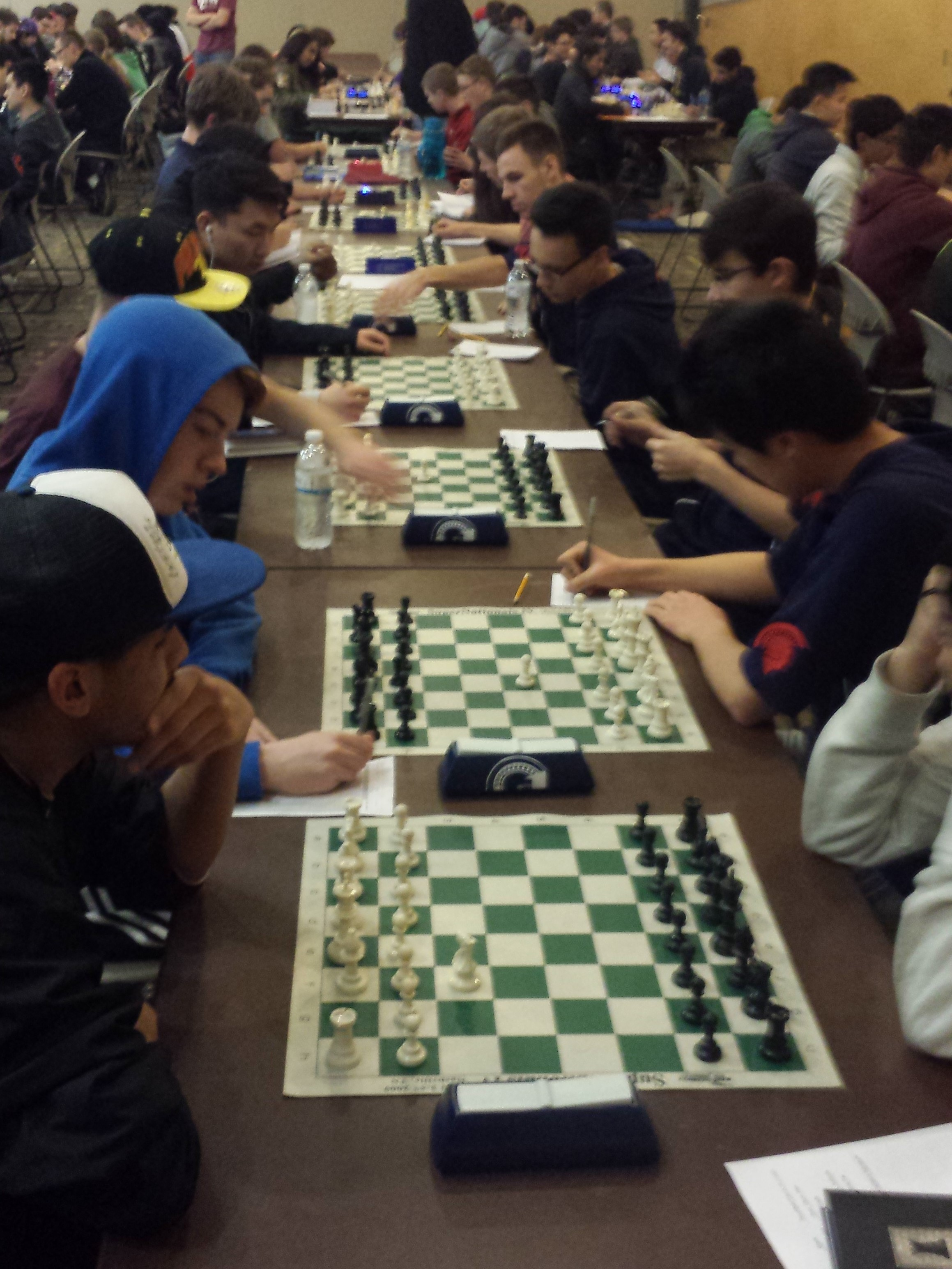 Chess Team in Action
