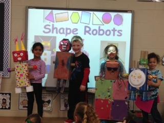 Kindergarten Math Workshop fun with 2D & 3D shapes | News