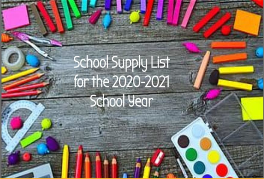 School Supply Lists for 2020-21 School Year | News Details