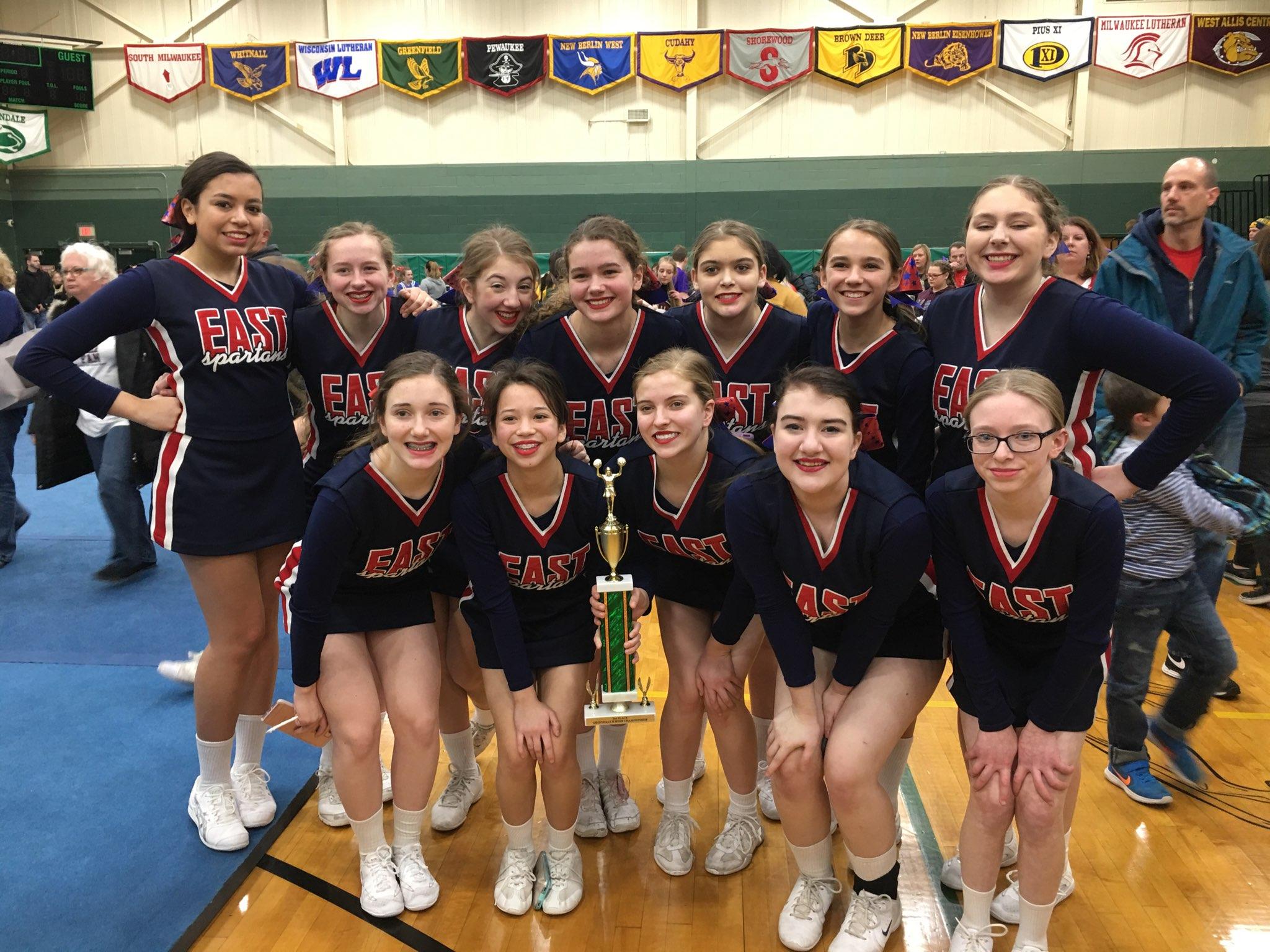 Brookfield East Cheerleaders Win Big!   News Details