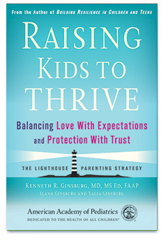 Picture of Raising Kids to Thrive book cover