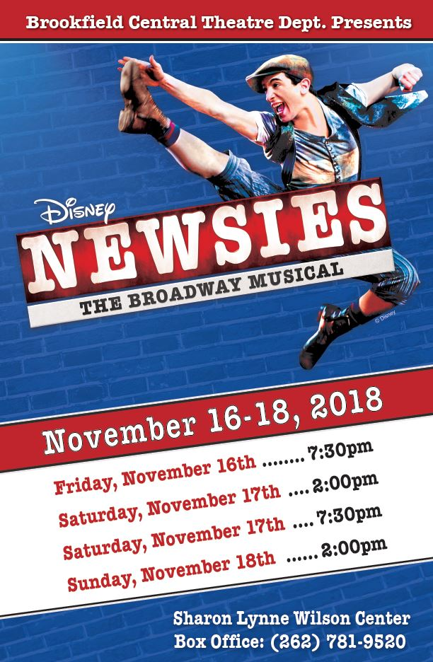 Newsies grpahic