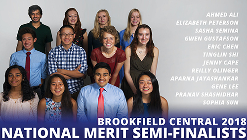 BCHS National Merit Semifinalists