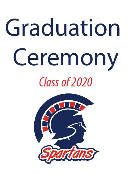BEHS Graduation ceremony graphic
