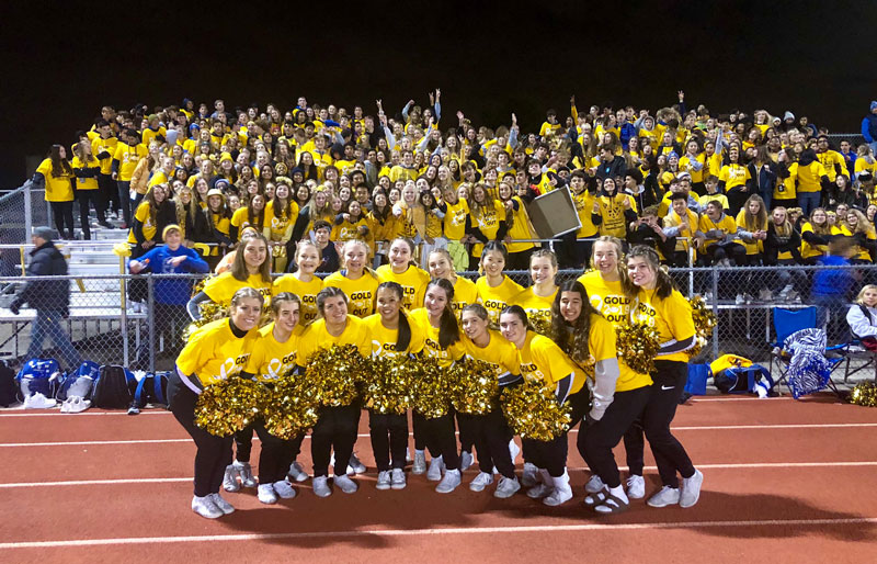 Gold out students