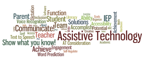 assistive technology terminology