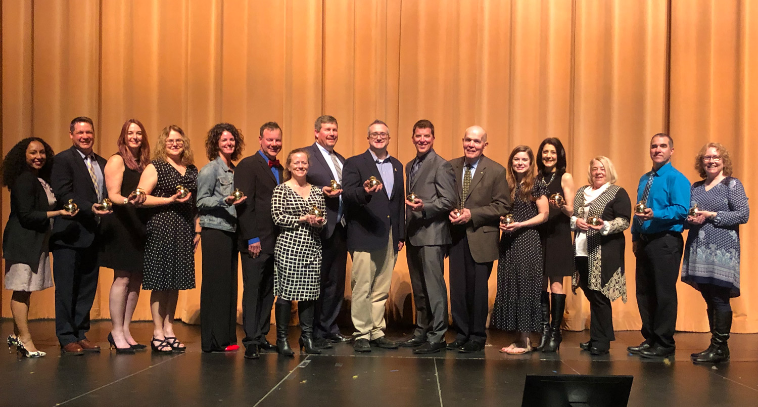 2019 Engaged in Excellence award winners