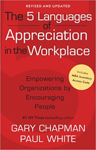 5 languages of appreciation in the workplace cover