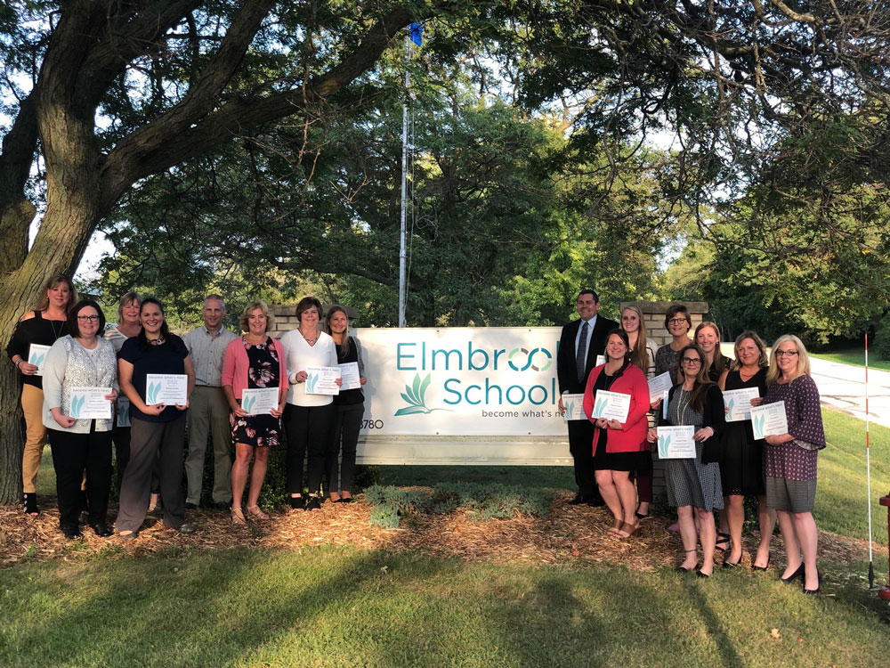 September Staff recognized