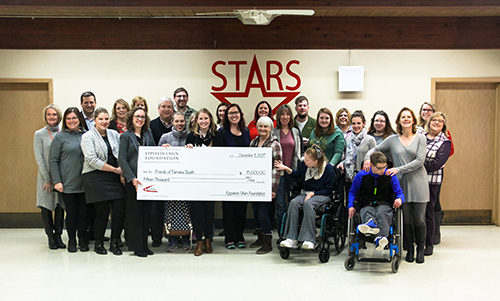 Friends of Fairview South presented with check