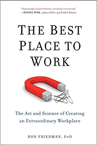 The best place to work cover
