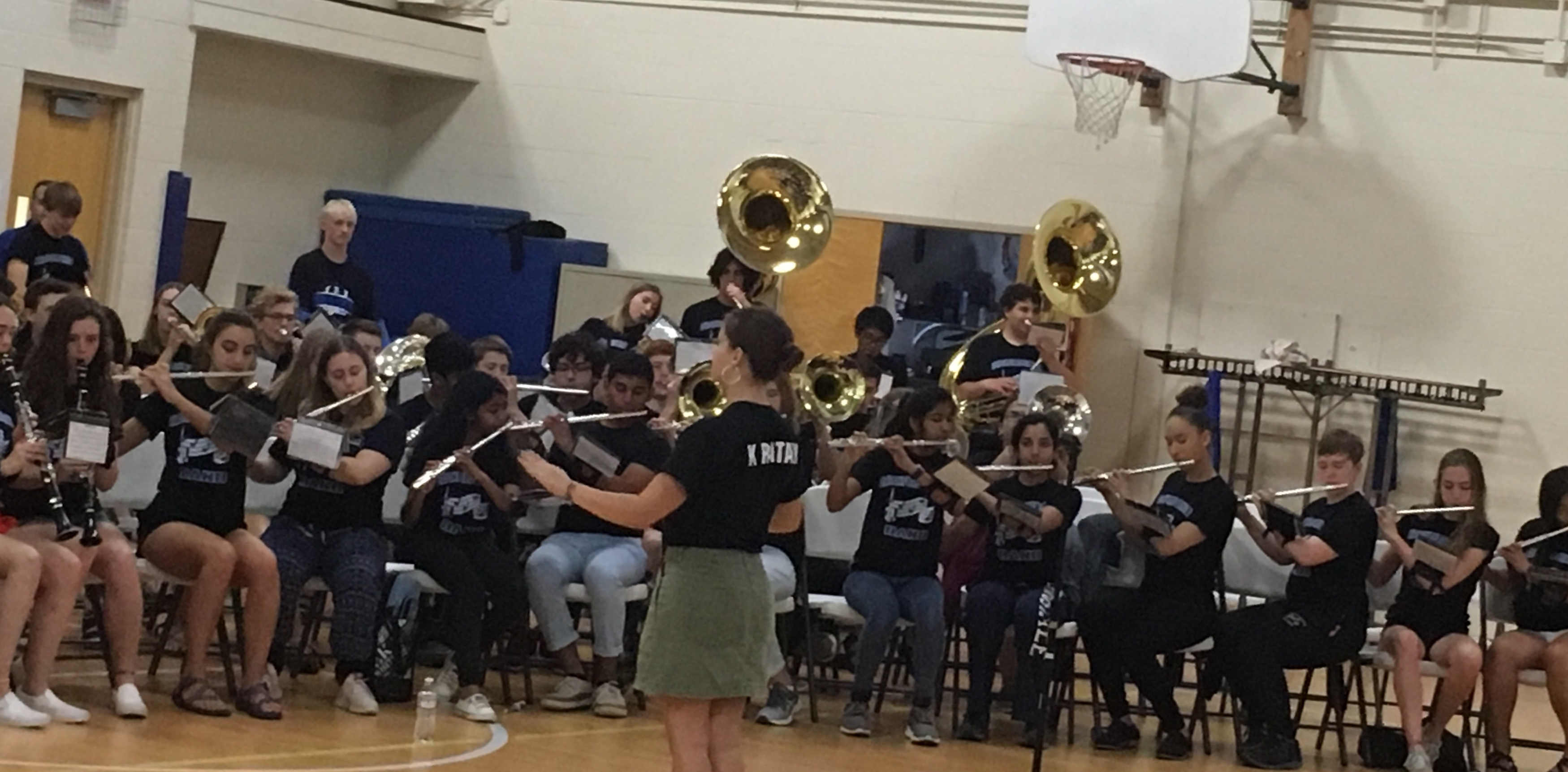 BC Band performs at Swanson! | News Details